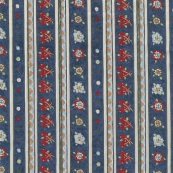 River's Bend - Vintage Vogue Laundry - Stripes - Blue