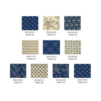 Lords & Ladies Quilt Kit (Blue)