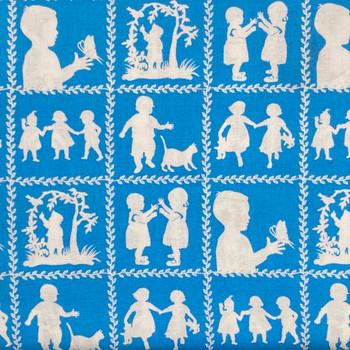 Henry Glass - Jesus Loves Me - Children Playing - Blue