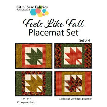 Feels Like Fall - Placemat Set (4)