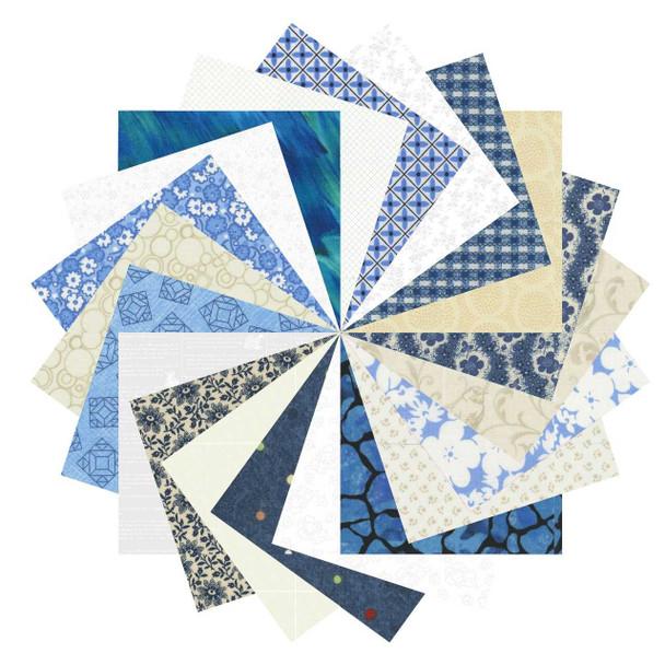 2.5'' Stash Builder - Blue/White/Cream