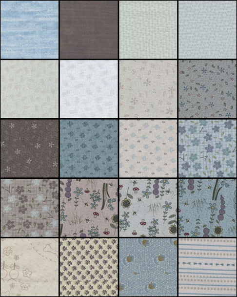 Home Grown - Fat Quarter Bundle