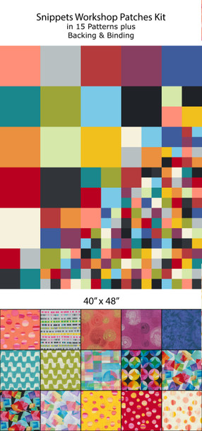 Snippets Patches Quilt Kit