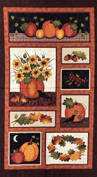 Harvest Pumpkin Panel Kit