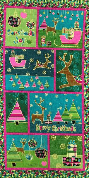 Merry Christmas Panel Kit 1
