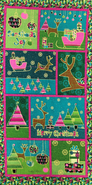 Merry Christmas Panel Kit 2