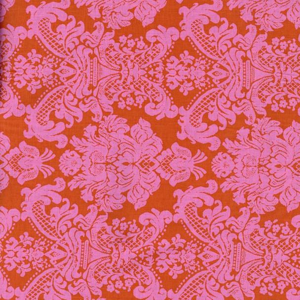 Leutenegger - Textures - Damask - Coral