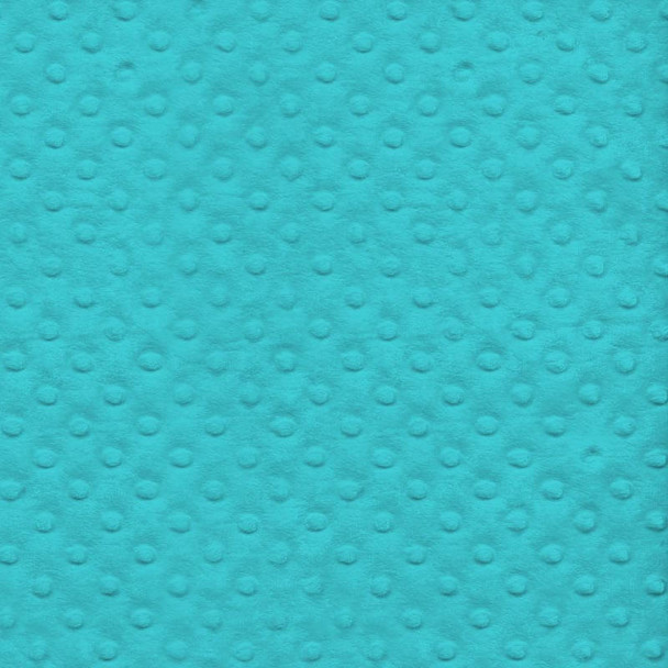 David Textiles - Bubble Plush Fleece - Turquoise