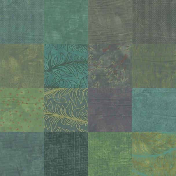 River's Bend - Rainforest - 5'' Hexagons