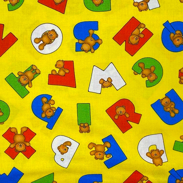 Henry Glass - Alpha-Bears - ABC Bears - Yellow