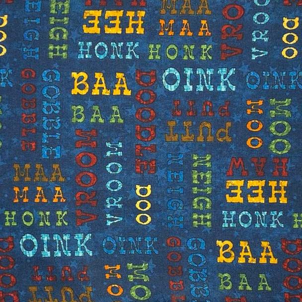 Henry Glass - McAnderson's Farm - Farm Sounds - Dk Blue