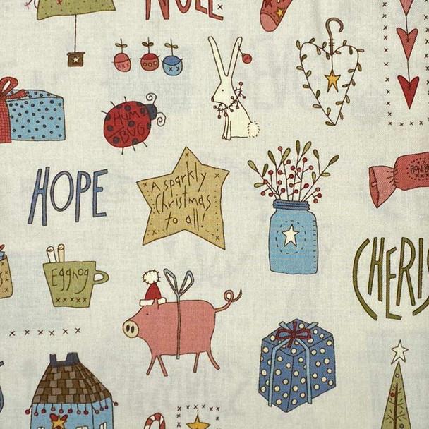 Henry Glass - Celebrating Xmas - Christmas Things - Cream