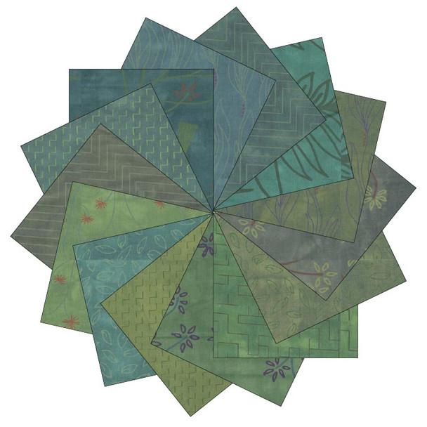 River's Bend - Rainforest - 5'' Squares