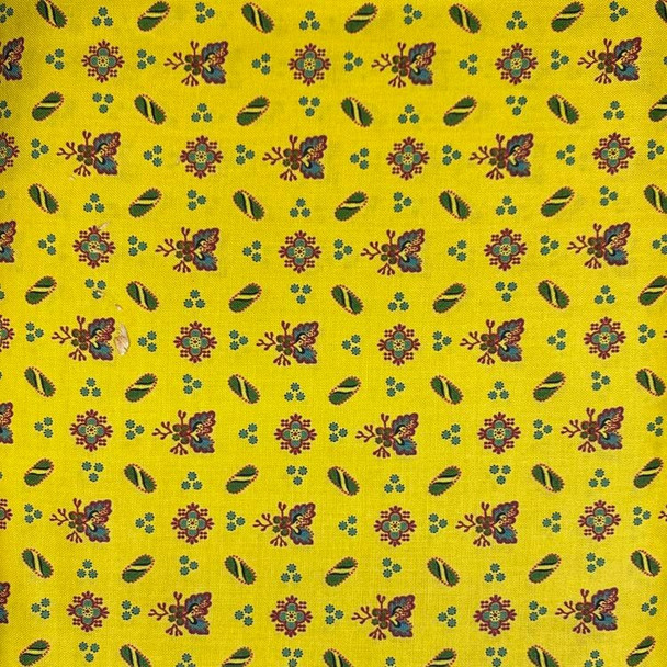 Washington Street Studios - Farm House - Ditsy Floral - Yellow