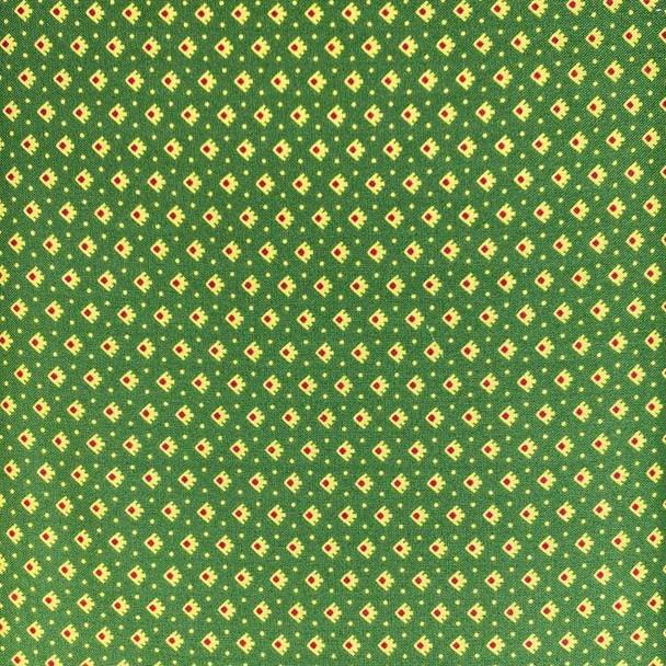 Washington Street Studios - Farm House - Calico Prints - Green