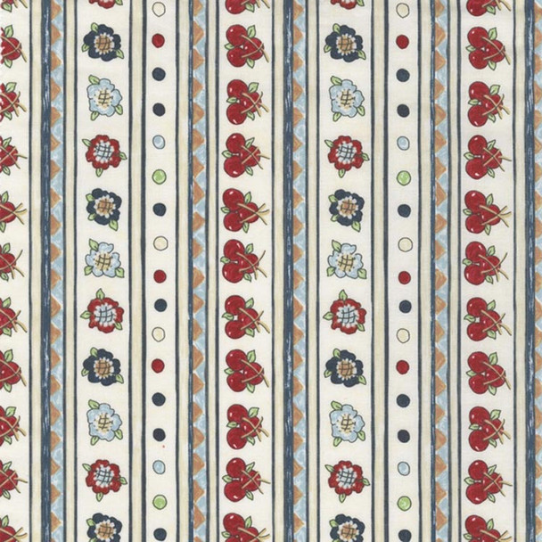 River's Bend - Vintage Vogue Laundry - Stripes - Natural