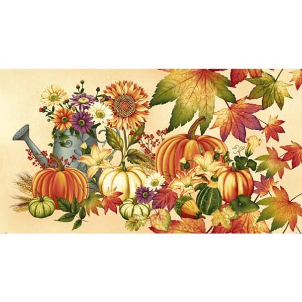 Henry Glass - Autumn Album - Autumn Panel - Cream