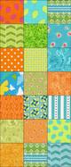 Sunkist Pinwheel Star Quilt Kit