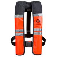 Crewsaver Crewfit Wipe Clean 150N Automatic life jacket in orange