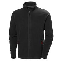HH Workwear Oxford Light Fleece Jacket - Black