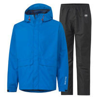 Helly Hansen Manchester Rain Jacket And Pant Set - Racer Blue