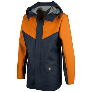 Guy Cotten Eureka Breathable Jacket Navy / Orange - front