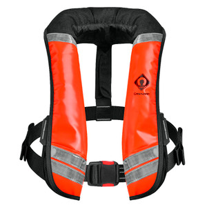 Crewsaver Crewfit 275N XD life jacket Wipe Clean Automatic in orange