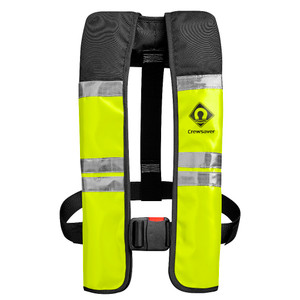 Crewsaver Crewfit Wipe Clean 150N Automatic Lifejacket in yellow