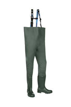 Sioen Falmore Chest Waders with Safety Boots