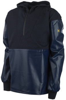 Guy Cotten Drake Hooded Smock - navy