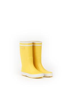 Aigle Lolly Pop Children's Rain Boots - yellow