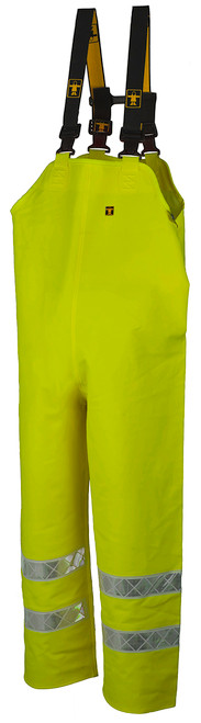 Guy Cotten Hitflash Bib & Braces - Hi Vis Orange & Yellow