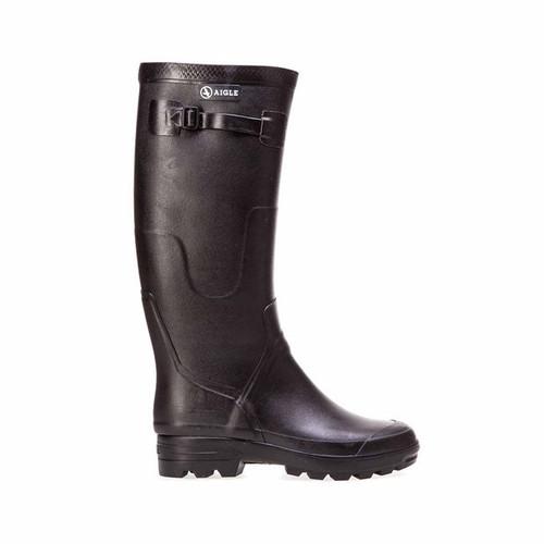 Aigle Black Rubber Boots