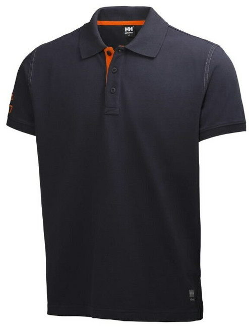 HH Workwear Oxford Polo Shirt - Navy
