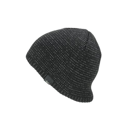 Sealskinz Waterproof Cold Weather Reflective Beanie - Black