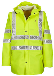 Guy Cotten Isoflash Jacket - High Visibilty
