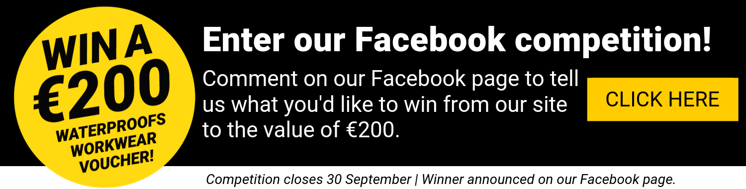 Waterproofs Facebook Competition