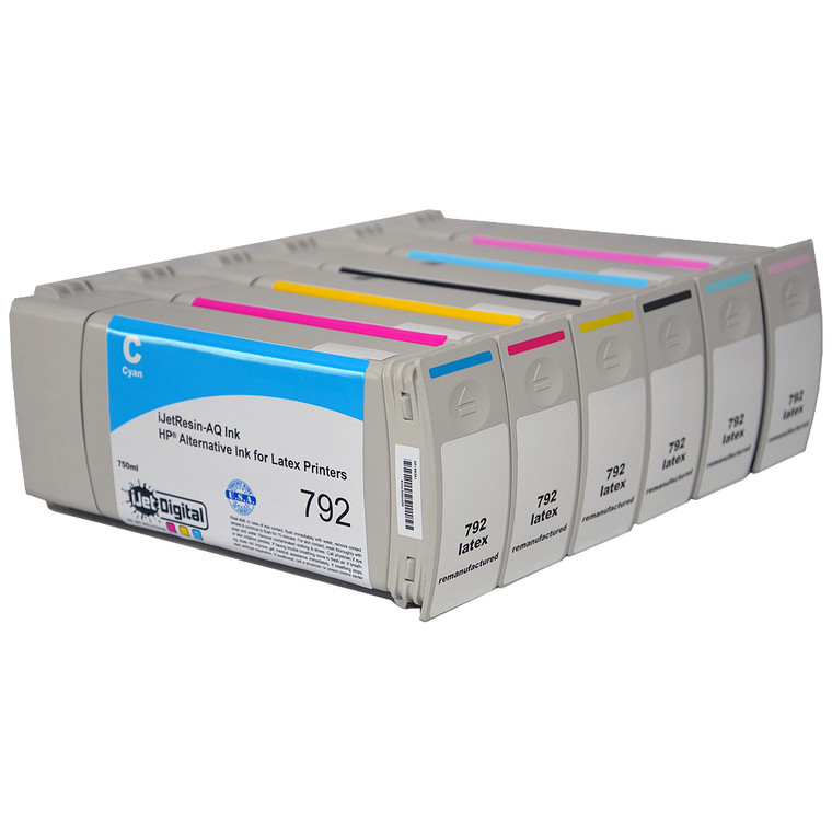 HP 792 Latex Compatible - iJetResin-AQ