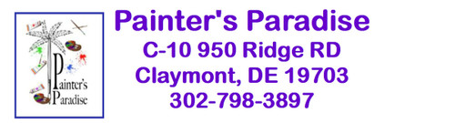 Painter's Paradise C-10 950 Ridge RD Claymont DE 19703 302-798-3897