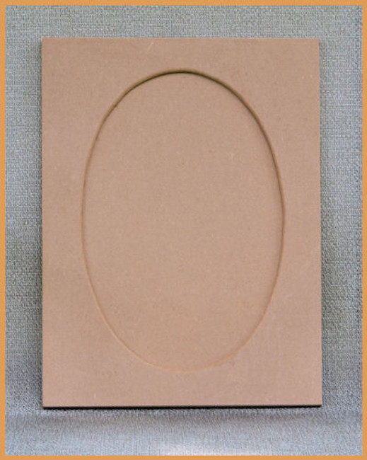 "Wood - Rectangular MDF Frame 16"" x 12"" (19236001)"