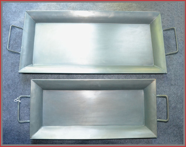 Metal - Long Tray Set of 2 (10534AB) OUT OF STOCK