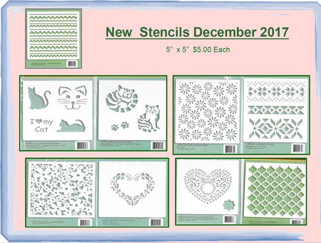 Stencils - New December 2017 (CM0XX)