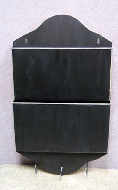 "Metal - Mail and Magazine Keeper 21"" x 12.5"" x 2""(115062)"