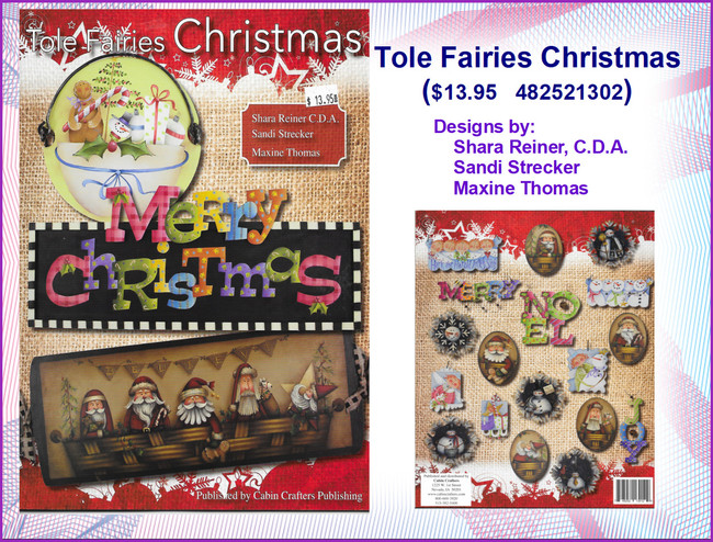 Book - Tole Fairies Christmas  (4825213012)