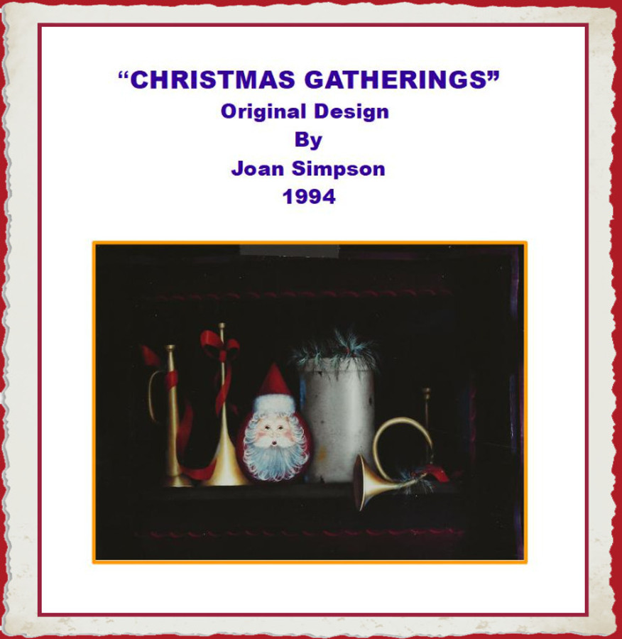 E-Packet Christmas Gatherings by Joan Simpson (EP-JS19942020) List Price $13.00