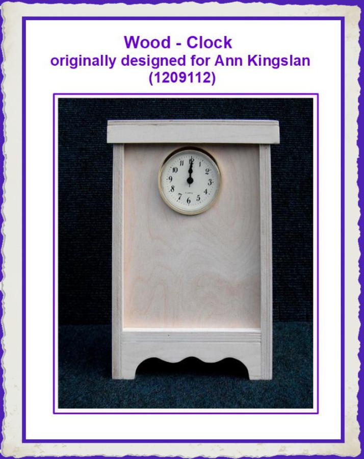 Wood - Clock - originally designed for Ann Kingslan (1209112) List Price $27.50