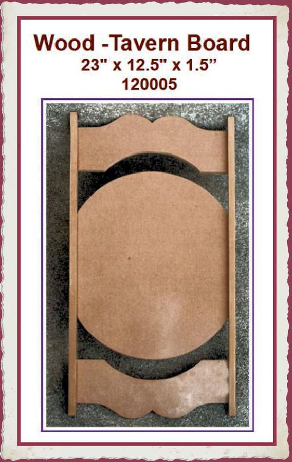 """Wood - Tavern Board 23' x 12.5"""" x 1.5"""" (120005) List Price $32.00"""
