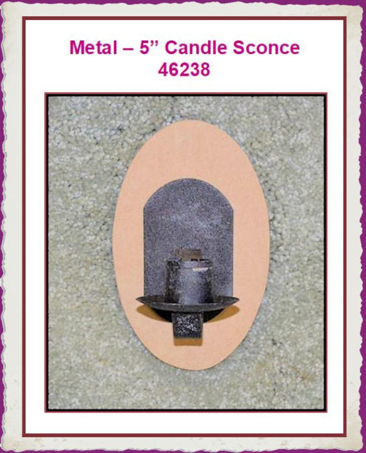 Metal -Candleholder Sconce (46238) List Price $4.50