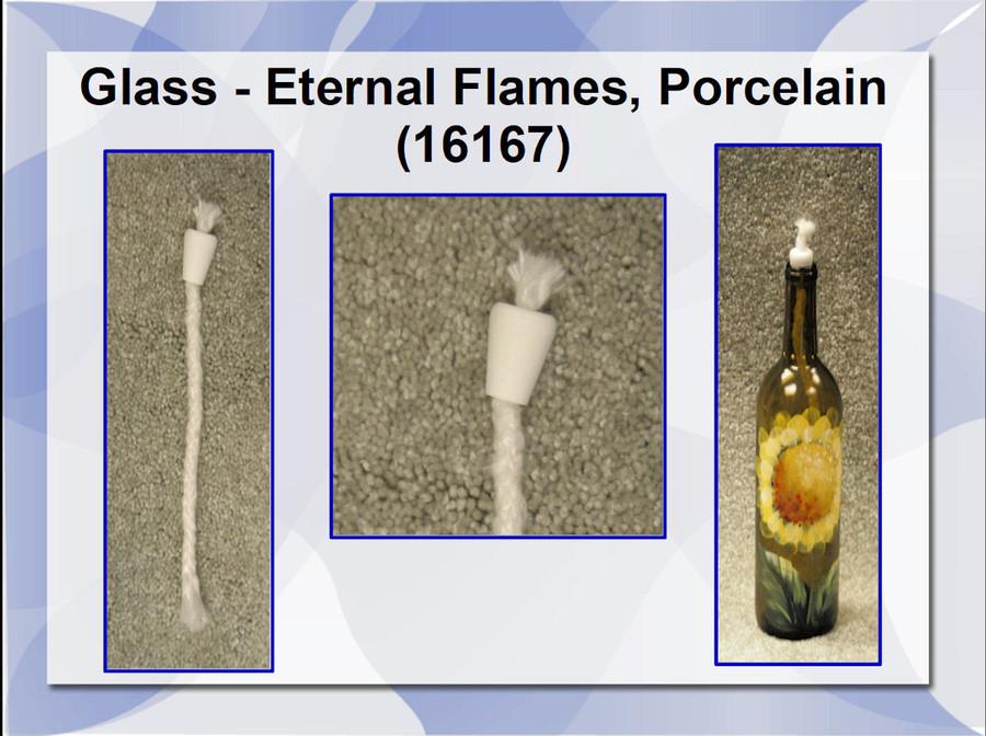 Glass - Eternal Flames, Porcelain (16167) List Price $3.00