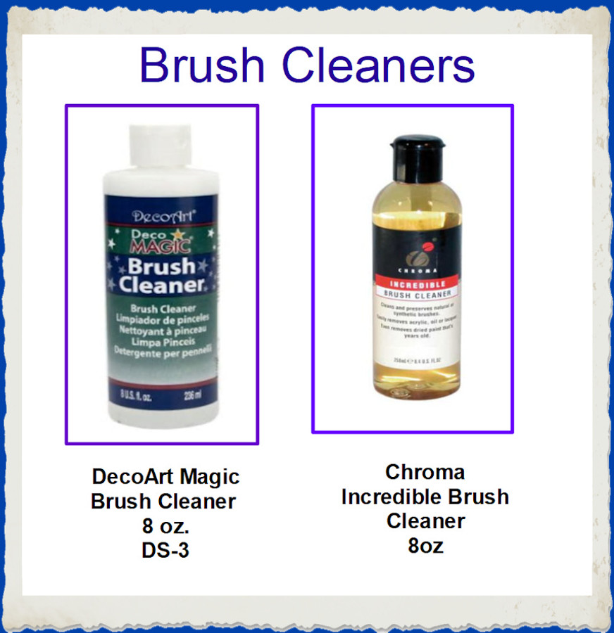 PT - Brush Cleaning Solutions - Chroma or DecoArt